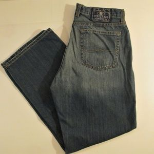 Lucky Brand Dungarees 34 X 30 Boot Cut Zip Fly